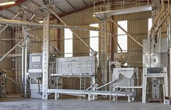 imagen de un Máquinas de Limpieza de Grano