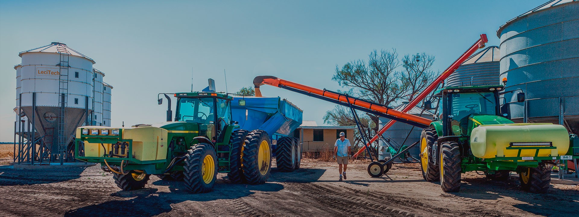 Vis à grains pour un usage agricole et industriel