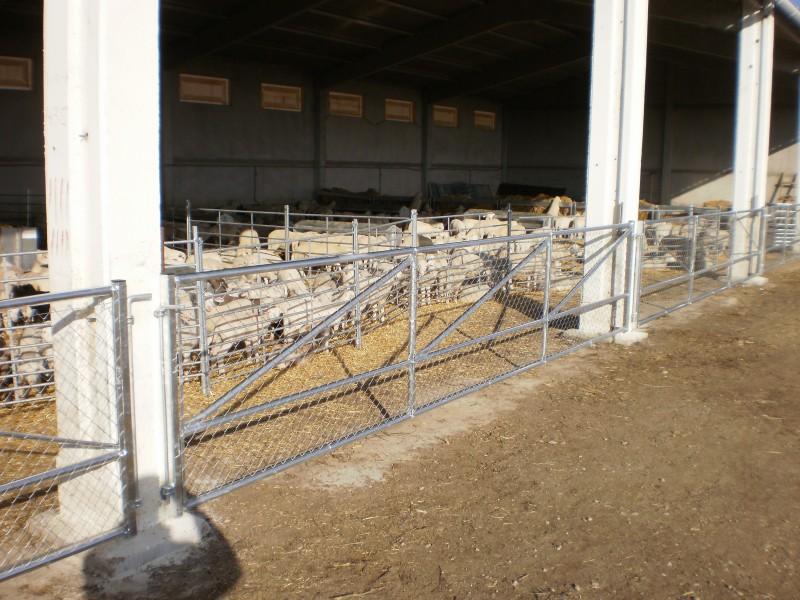clôture élevage agricole industrielle